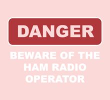 Ham Radio Call Sign Kids Clothes