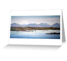 connemara view Greeting Card