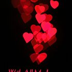 Cascading Hearts_All My Love (Portrait) by Dale Rockell