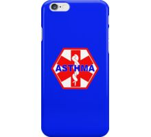 ASTHMA MEDICAL ALERT ID TAG iPhone Case/Skin