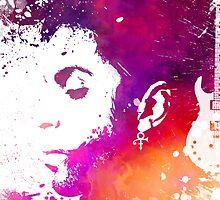 Prince Rogers Nelson - Purple Rain by JBJart
