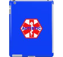 AUTISTIC MEDICAL ALERT ID TAG iPad Case/Skin