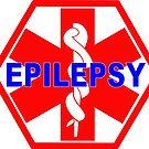 EPILEPSY Medical alert Identification tag by SofiaYoushi