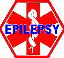 EPILEPSY Medical alert Identification tag by SofiaYoushi