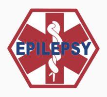 EPILEPSY Medical alert Identification tag Kids Tee