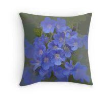 abstract of Cranesbill (wild Geranium) Throw Pillow