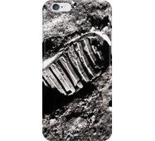 First moon footprint. iPhone Case/Skin