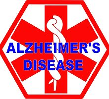 Alzheimer's disease medical alert Identification Tag by SofiaYoushi