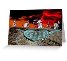 Soldier's Graves - Washington Crossing PA Greeting Card
