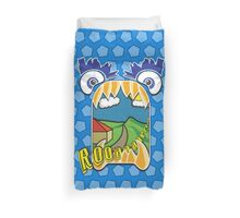The Valley of Monsters Duvet Cover