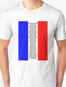 I am Charlie (Je suis Charlie), in any language T-Shirt
