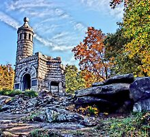 Monument to the 44th - Gettysburg Pa. by DJ Florek