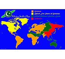 28TH Century World Map Photographic Print