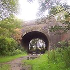 Railway bridge, St Helens by nicholaTisdall