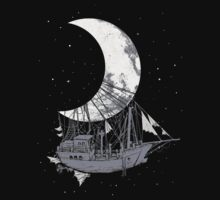 Moon Ship One Piece - Short Sleeve