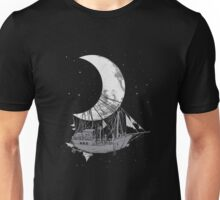 Moon Ship Unisex T-Shirt