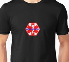 Head injury medical alert ID tag Unisex T-Shirt