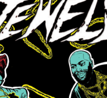 Run The Jewels - Job Well Done Sticker