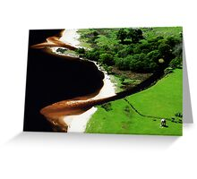 Lough Tay - Corrie Lake (view 1) Greeting Card