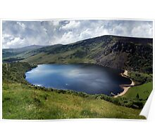 Lough Tay - Corrie Lake Poster