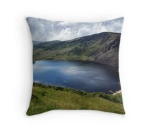 Lough Tay - Corrie Lake Throw Pillow