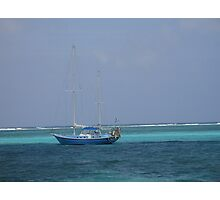 Sailing the Carribean Photographic Print