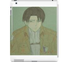 Levi Ackerman (Pencil Sketch) iPad Case/Skin