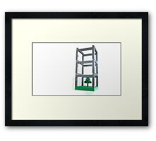 Park-ing facility Framed Print