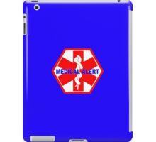 Medical alert ID tag 1 iPad Case/Skin