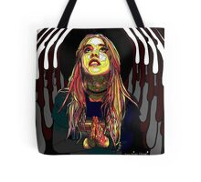 Praying for head Tote Bag