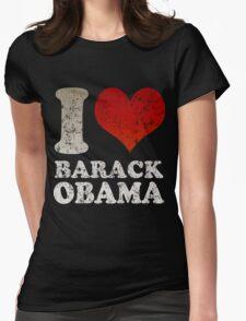 I love Barack Obama Womens Fitted T-Shirt