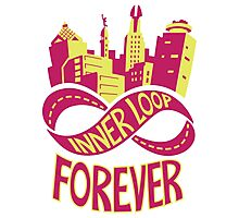 Inner Loop Forever (Color) Photographic Print