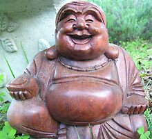 Happy Buddha  by Jaime Parker