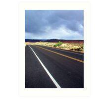~ Desert Road ~ Art Print
