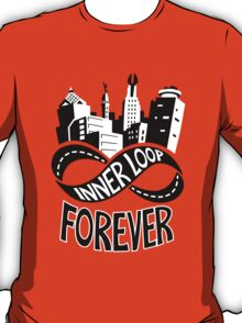 Inner Loop Forever (Black & White) T-Shirt