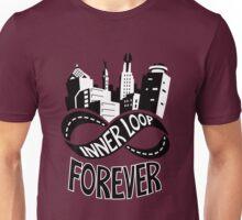 Inner Loop Forever (Black & White) Unisex T-Shirt