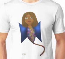 Serene Winged Girl Unisex T-Shirt