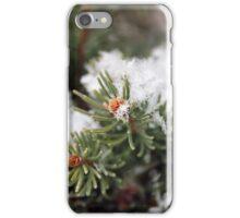Snowy Pine Details iPhone Case/Skin