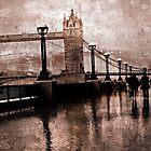 London Bridge in the rain by scotts03