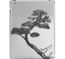 The Bonsai in Black and White iPad Case/Skin