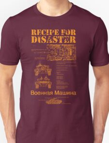 Recipe For Disaster T-Shirt