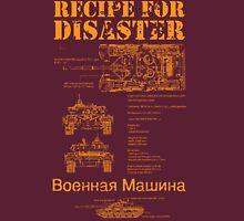 Recipe For Disaster Unisex T-Shirt