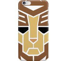 Lion Transformer Logo Retro iPhone Case/Skin