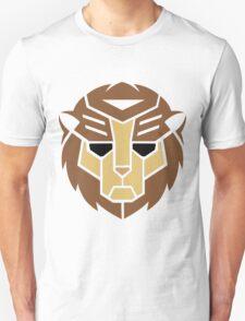 Lion Transformer Logo Retro Unisex T-Shirt