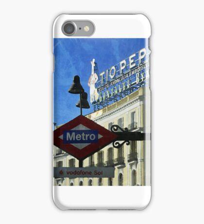 Puerta del Sol iPhone Case/Skin