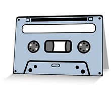 COMPACT CASETTE TAPE  Greeting Card