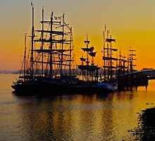 Tall ships at Greenwich by scotts03