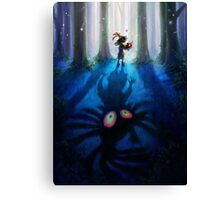 The Legend of Zelda Majora's Mask 3D Artwork #1 Canvas Print