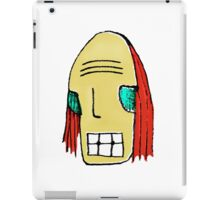 Cool Young Man Character Portrait iPad Case/Skin