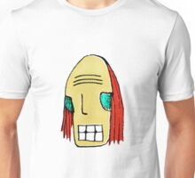 Cool Young Man Character Portrait Unisex T-Shirt